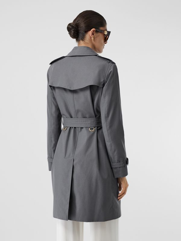 Trench Heritage The Kensington (Gris Moyen) - Femme | Burberry Canada - cell image 2