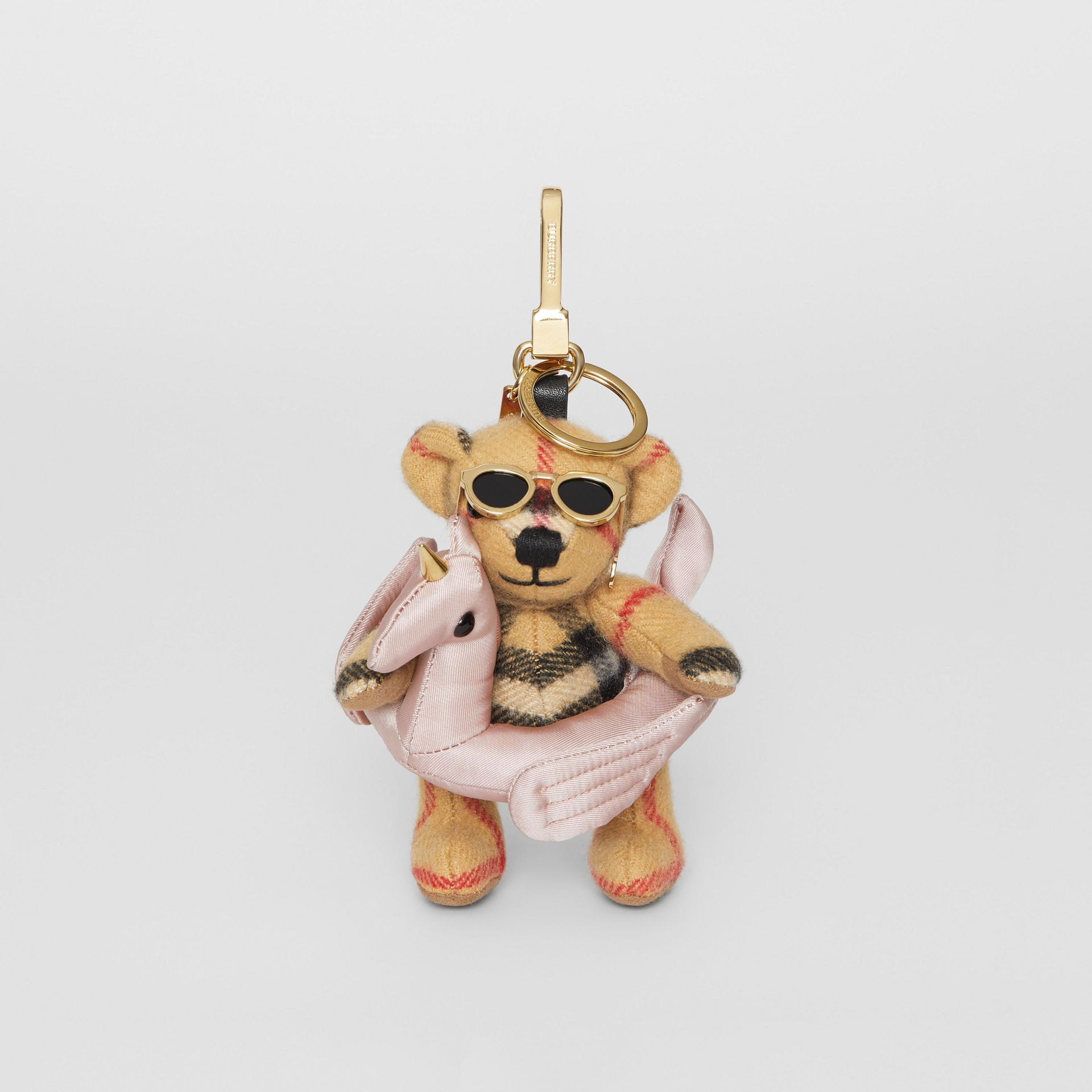 Thomas Bear Charm in Pool Float in Antique Yellow - Women | Burberry United States - gallery image 2