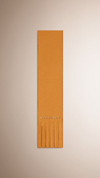 Grainy Leather Bookmark