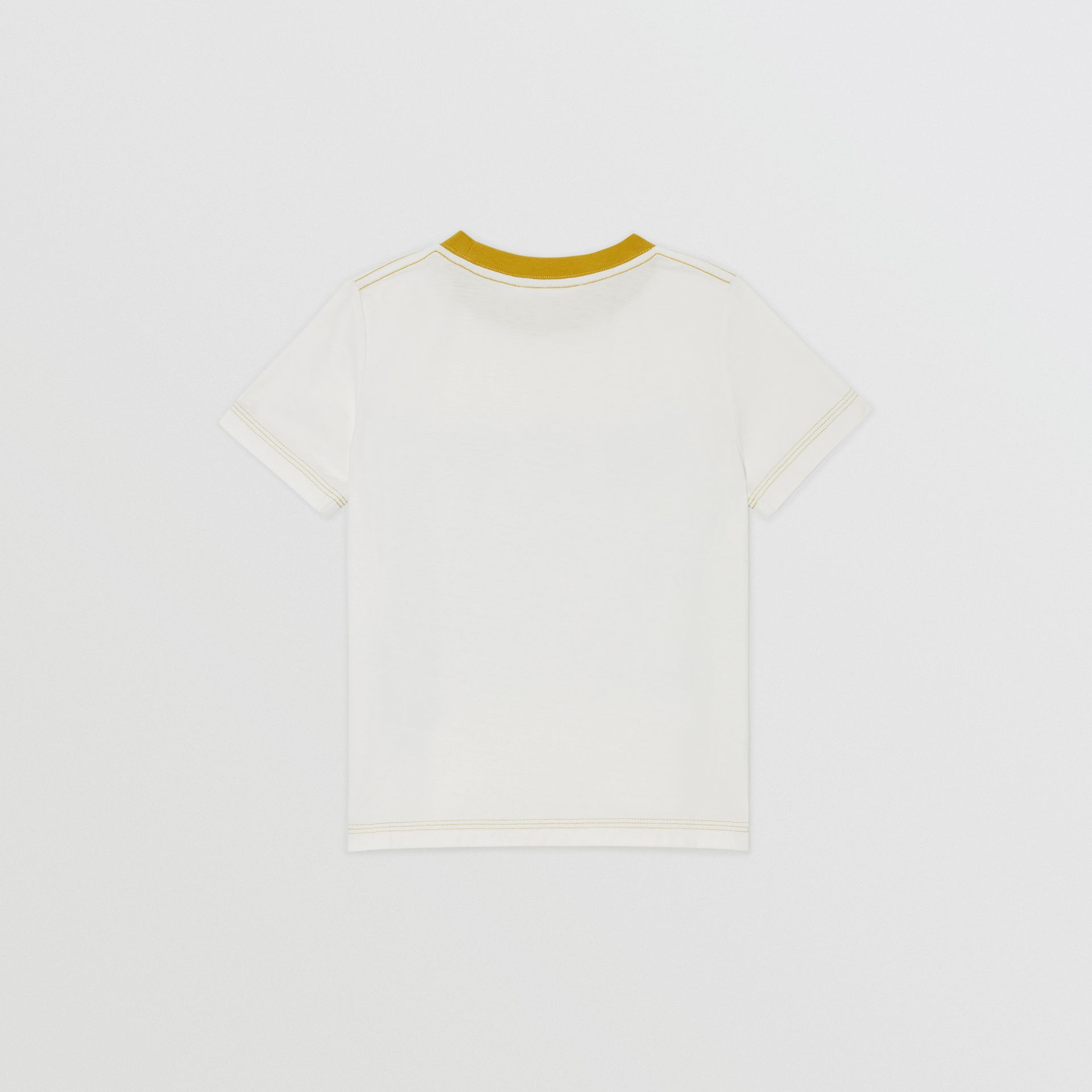 T-shirt en coton à imprimé bande dessinée (Stone Clair) | Burberry - photo de la galerie 3