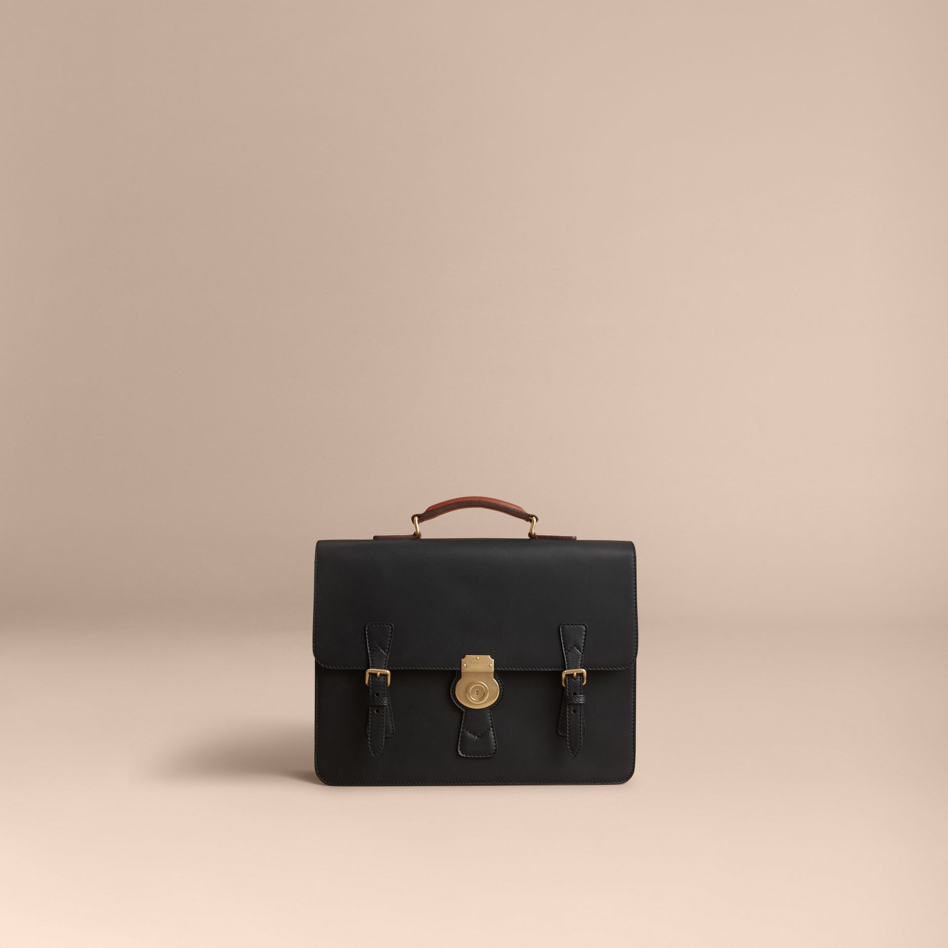 The Medium DK88 Satchel in Black - Men | Burberry - gallery image 6