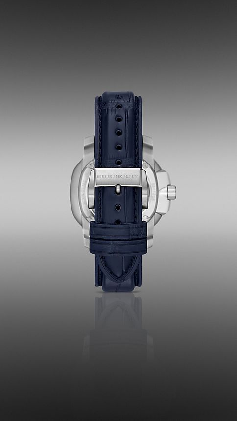Navy blue The Britain BBY1205 43mm Automatic - Image 2