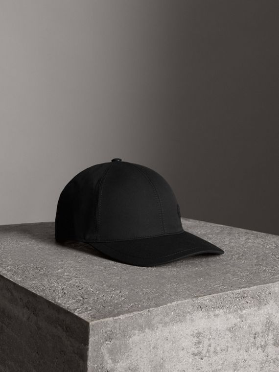 Archive Logo Baseball Cap in Black