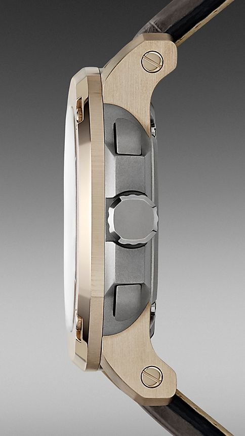 Grey The Britain Limited Edition 18k Gold BBY2001 47mm Automatic - Image 3