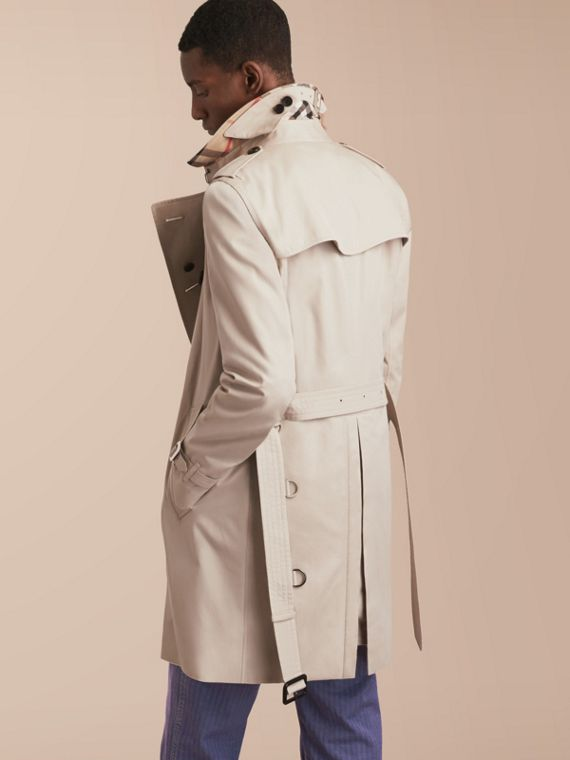 The Kensington – Long Heritage Trench Coat in Stone - cell image 2
