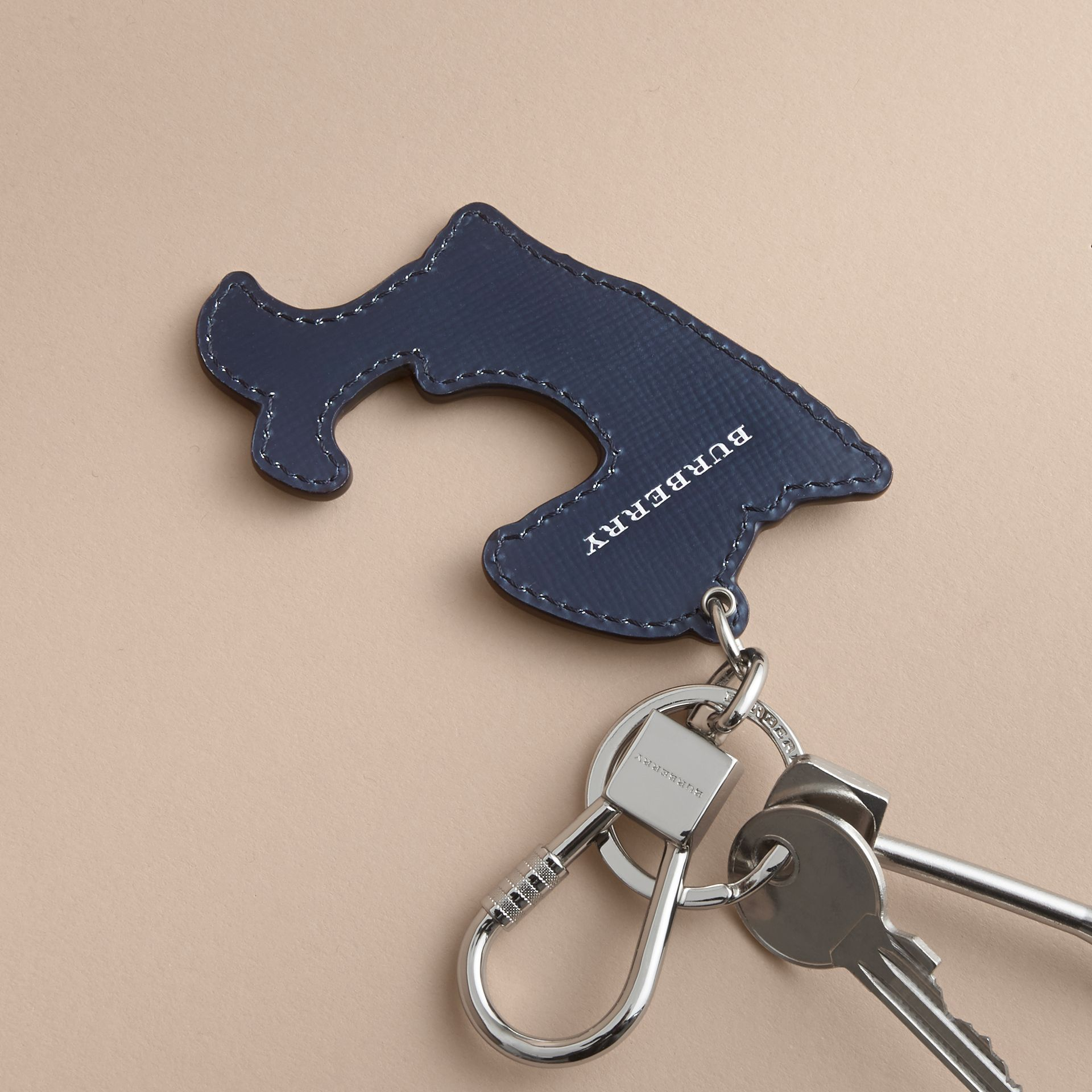 Beasts Leather Key Ring - gallery image 4