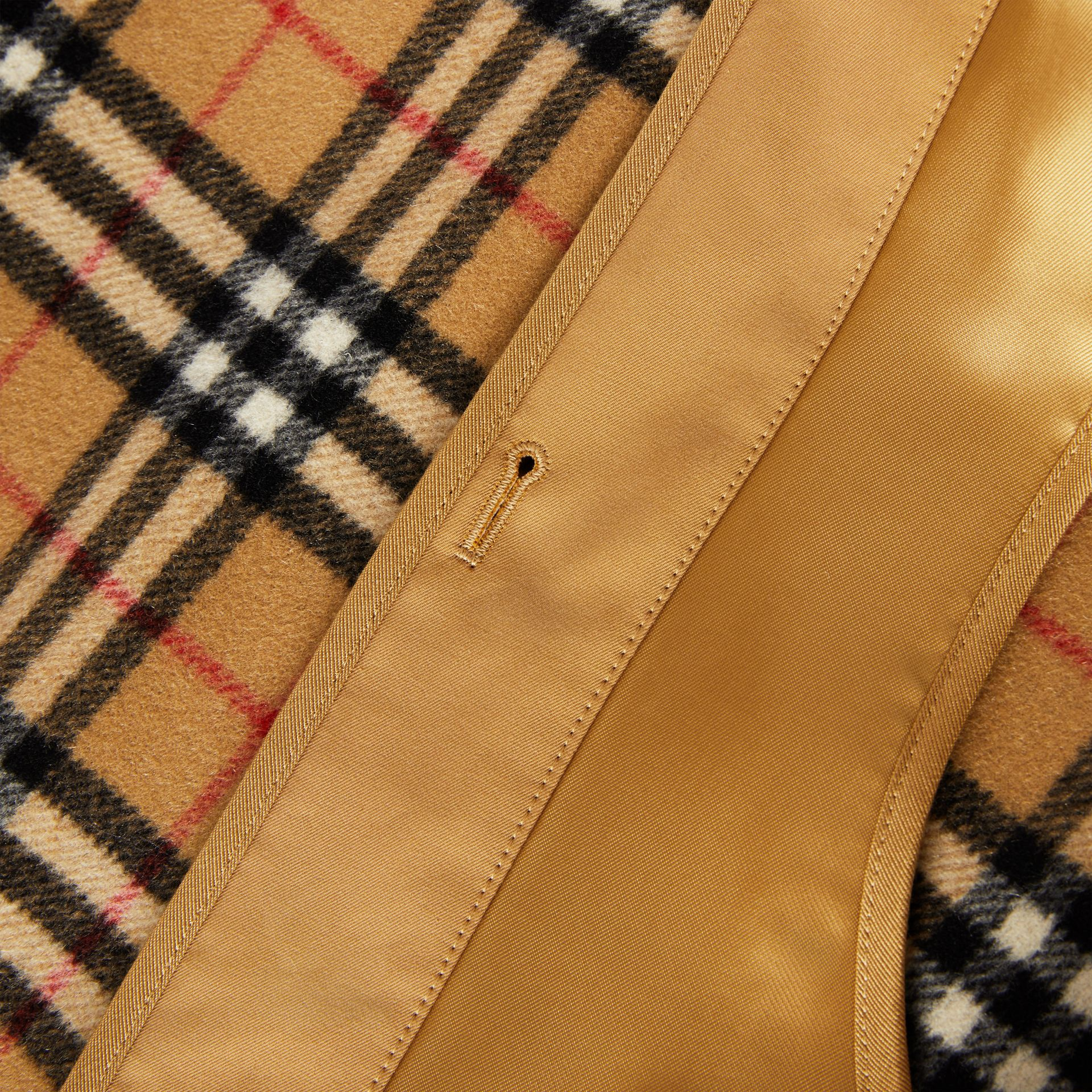 Camden Fit Warmer in Antique Yellow - Men | Burberry - gallery image 1