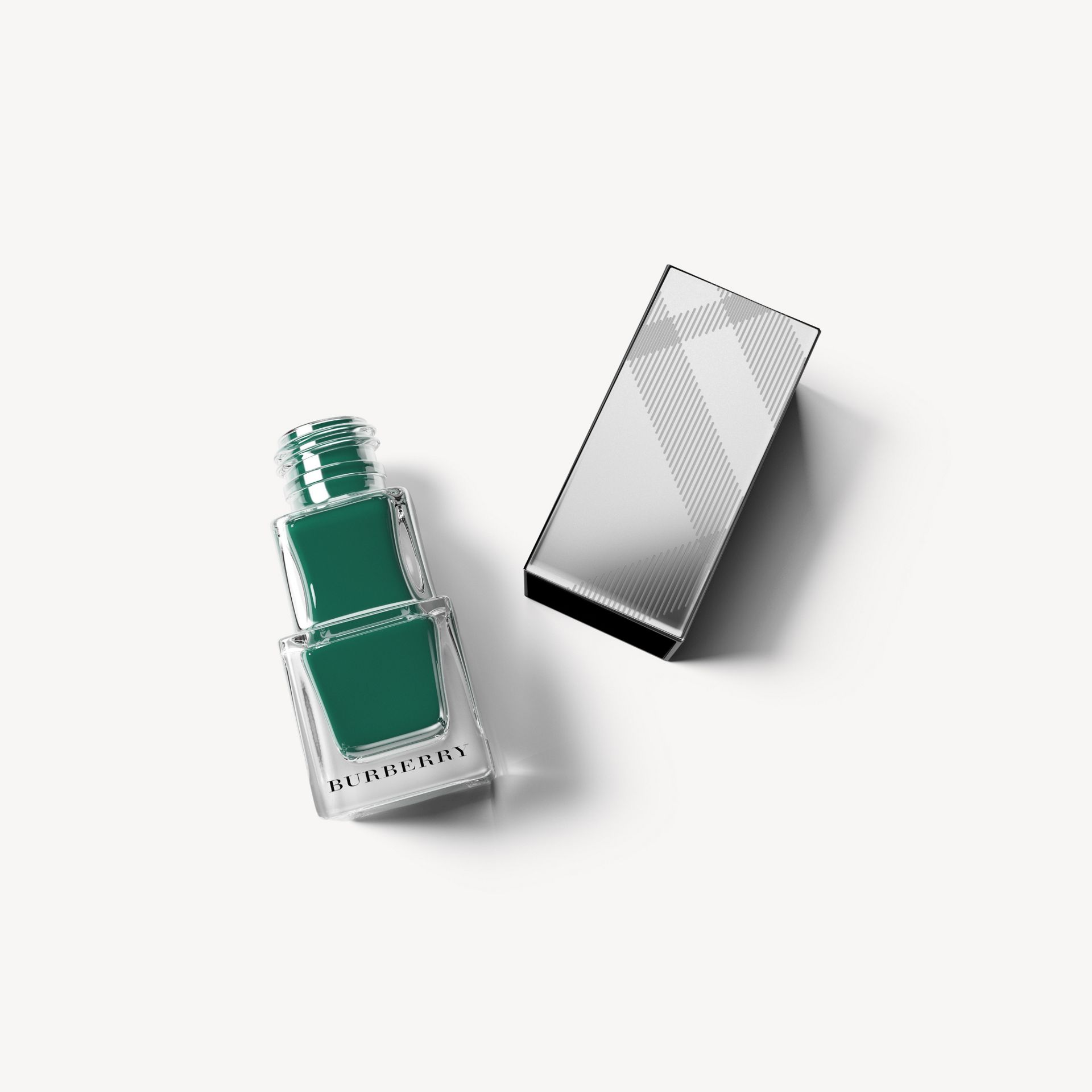 Nail Polish - Dark Bottle Green No.423 - Donna | Burberry - immagine della galleria 0