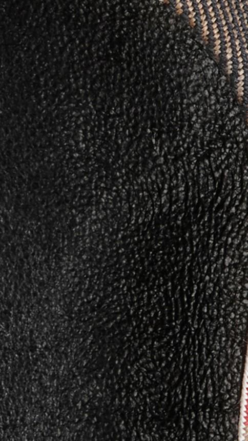 Black Bridle House Check Ballerinas Black - Image 2