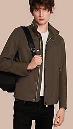 Packaway Hood Cotton Gabardine Blouson
