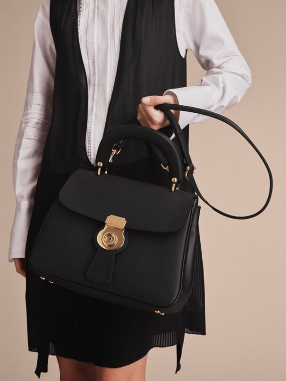 The Medium DK88 Top Handle Bag Black - cell image 3