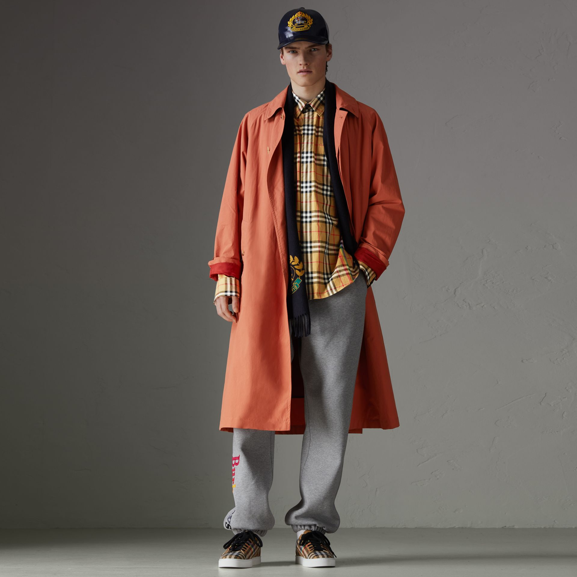 Rainbow Vintage Check Shirt in Antique Yellow - Men | Burberry United States - gallery image 0