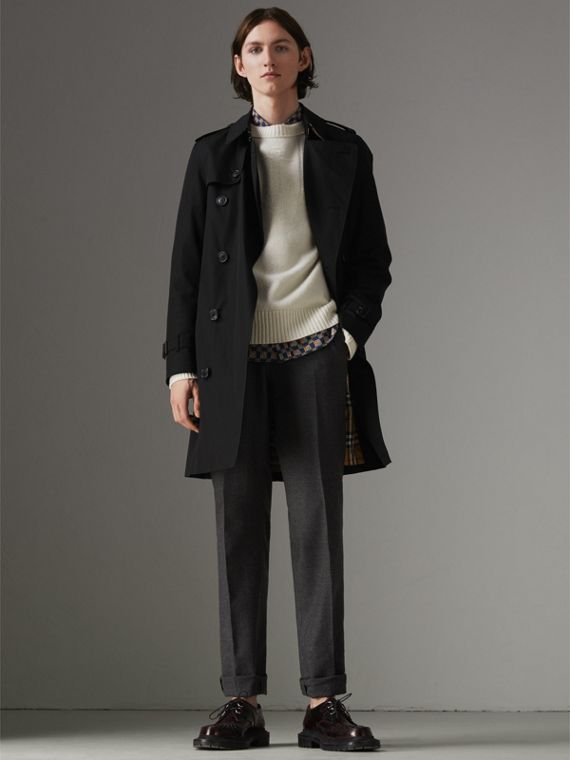 The Chelsea - Trench coat Heritage (Preto)