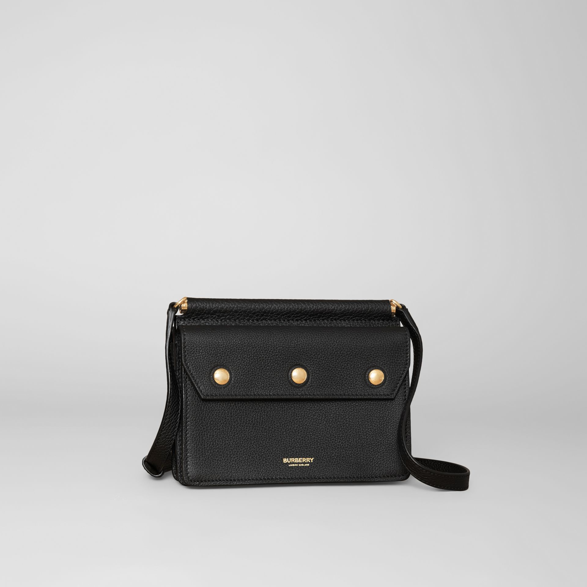 Mini Leather Title Bag in Black - Women | Burberry Hong Kong S.A.R. - gallery image 6