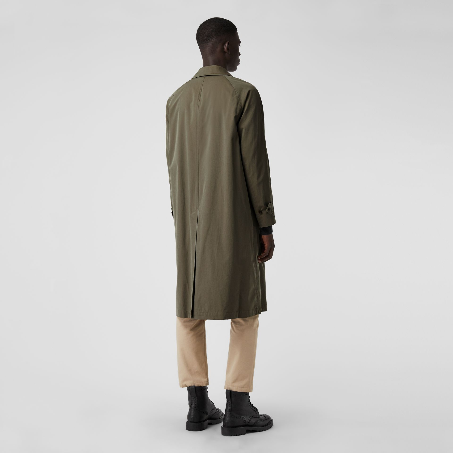 The Brighton Car Coat in Chalk Green - Men | Burberry United Kingdom - gallery image 2