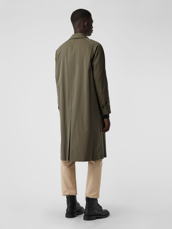 The Brighton Car Coat in Chalk Green - Men | Burberry United Kingdom - cell image 2