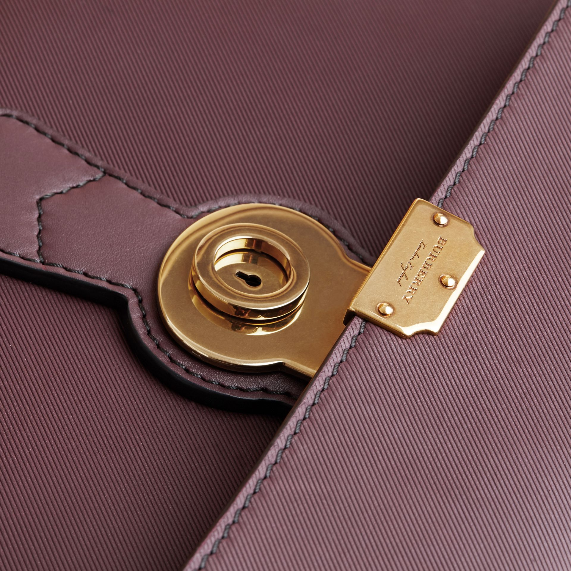 The DK88 Portfolio Case in Wine - Men | Burberry - gallery image 5