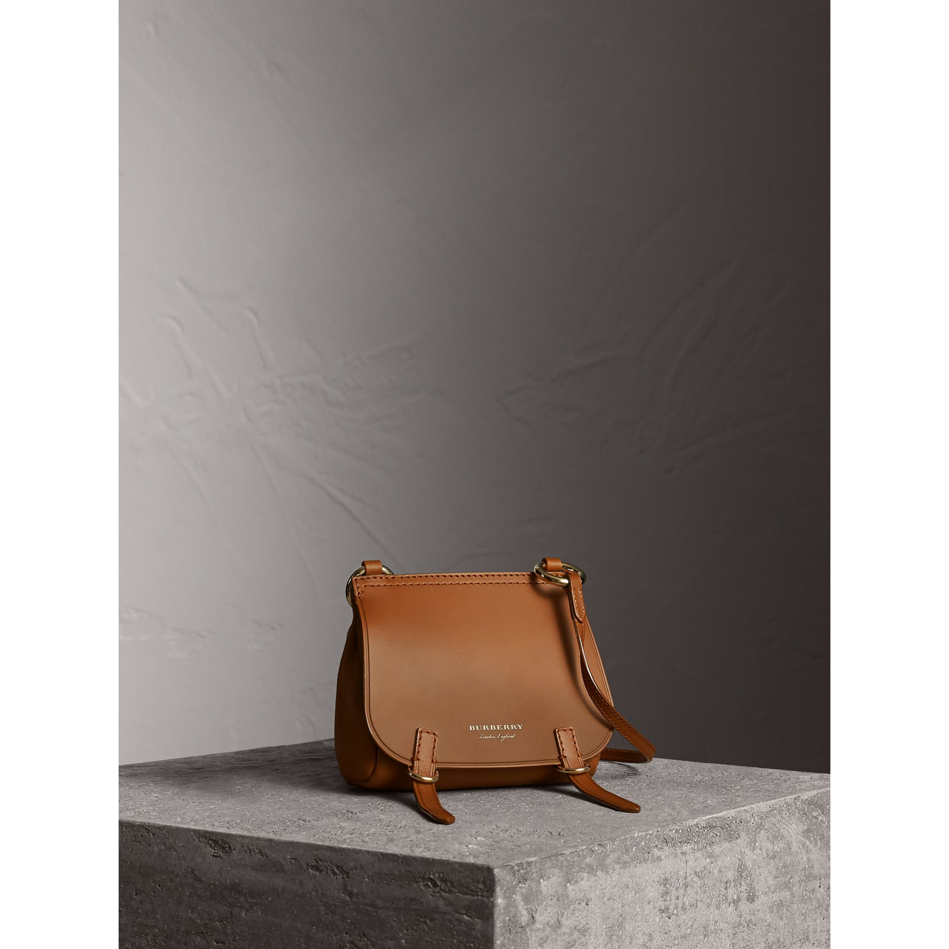 The Baby Bridle Bag in Leather in Tan - gallery image 1