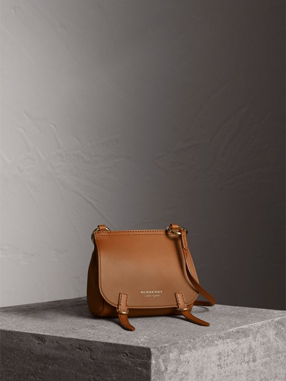 The Baby Bridle Bag in Leather in Tan