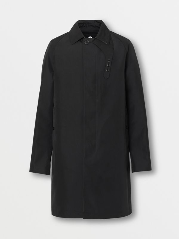 Bonded Car Coat with Warmer in Black - Men | Burberry - cell image 3