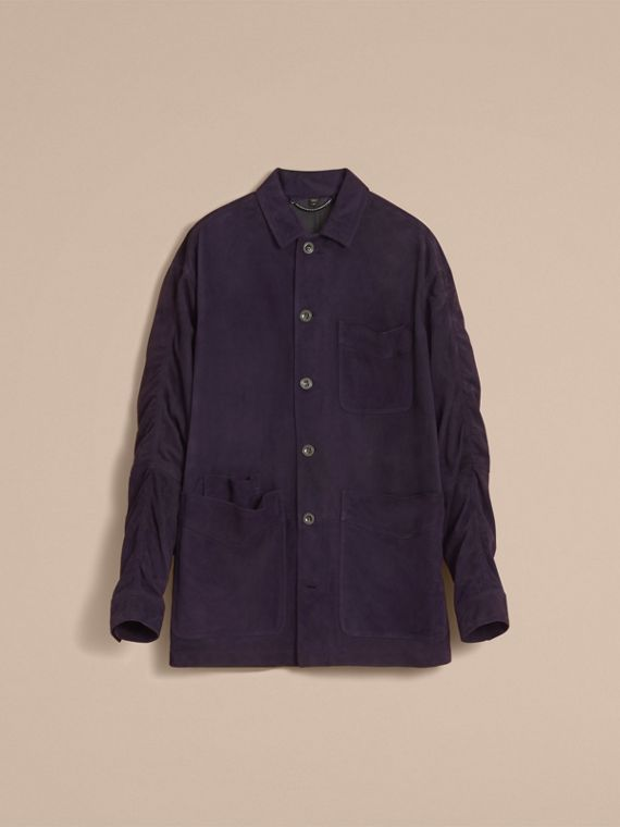 Suede Workwear Jacket - Men | Burberry - cell image 3