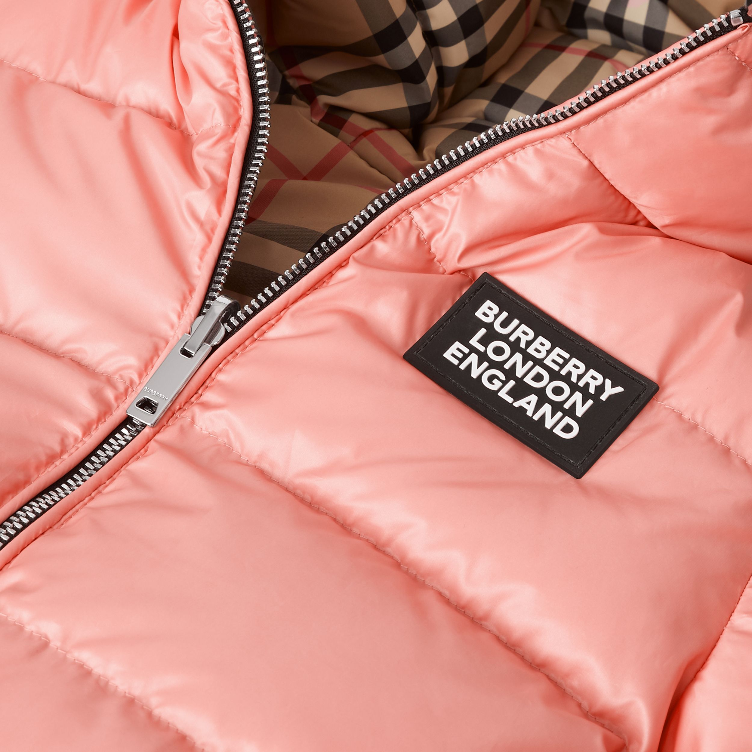 Reversible Vintage Check Puffer Jacket - Children | Burberry - 2