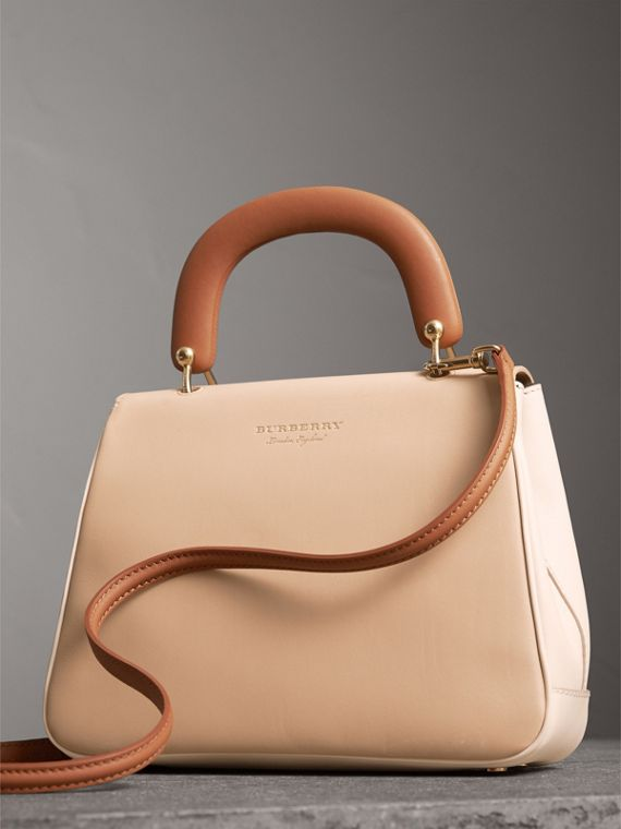 The Medium DK88 Top Handle Bag in Limestone/honey - Women | Burberry United Kingdom - cell image 3