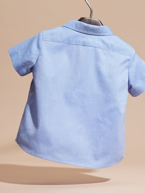 Cornflower blue Classic Oxford Shirt - cell image 3