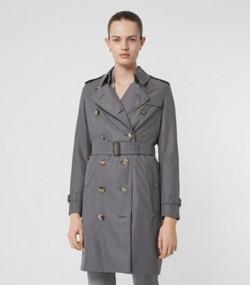 92e4668f961e The Kensington Heritage Trench Coat in Mid Grey