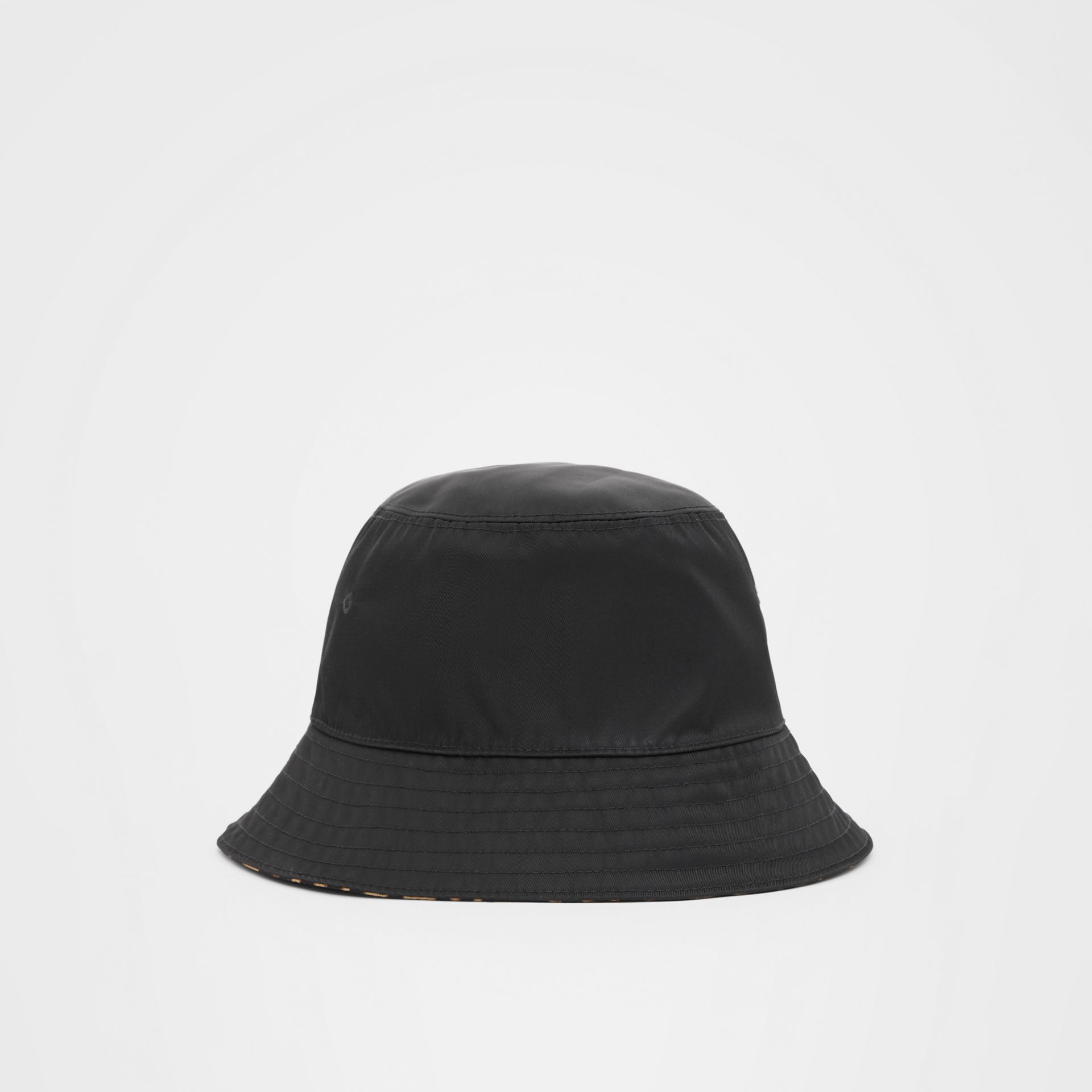 Reversible Logo Appliqué Leopard Print Bucket Hat | Burberry Singapore - gallery image 7