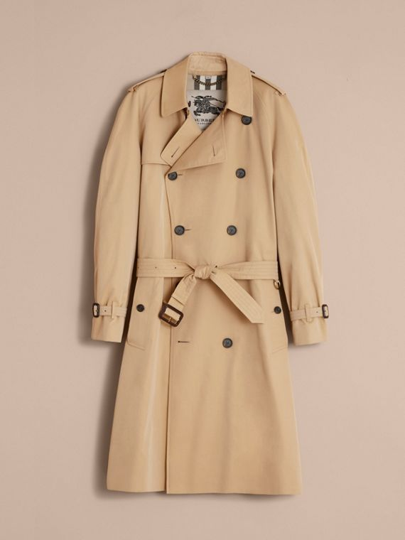 The Westminster – Long Heritage Trench Coat in Honey - cell image 3