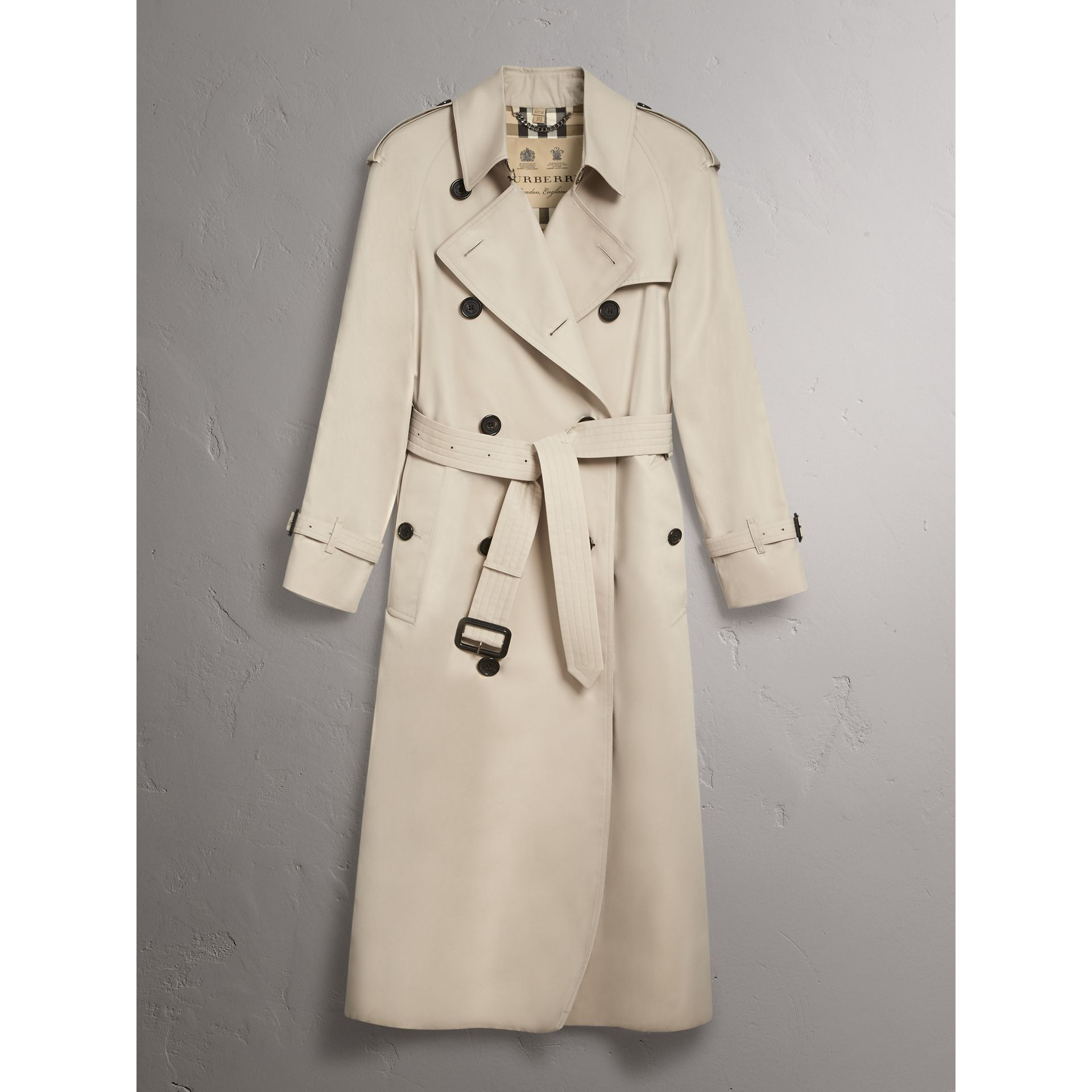 The Westminster – Extra-long Trench Coat in Stone - Women | Burberry - gallery image 4