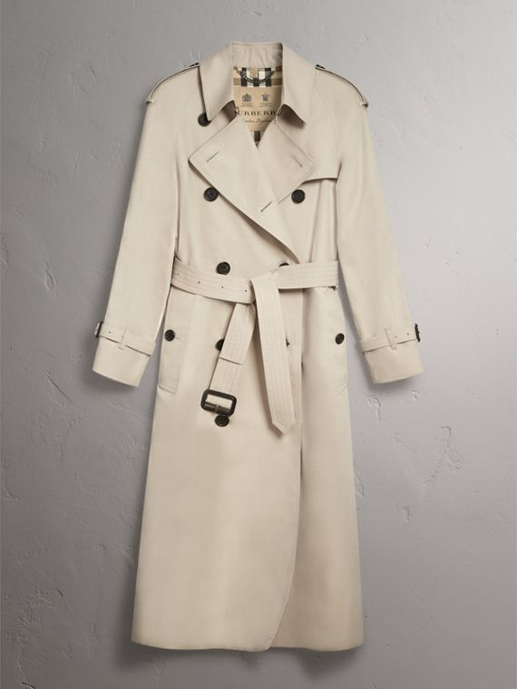 The Westminster - Trench coat extra lungo (Pietra) - Donna | Burberry - cell image 3
