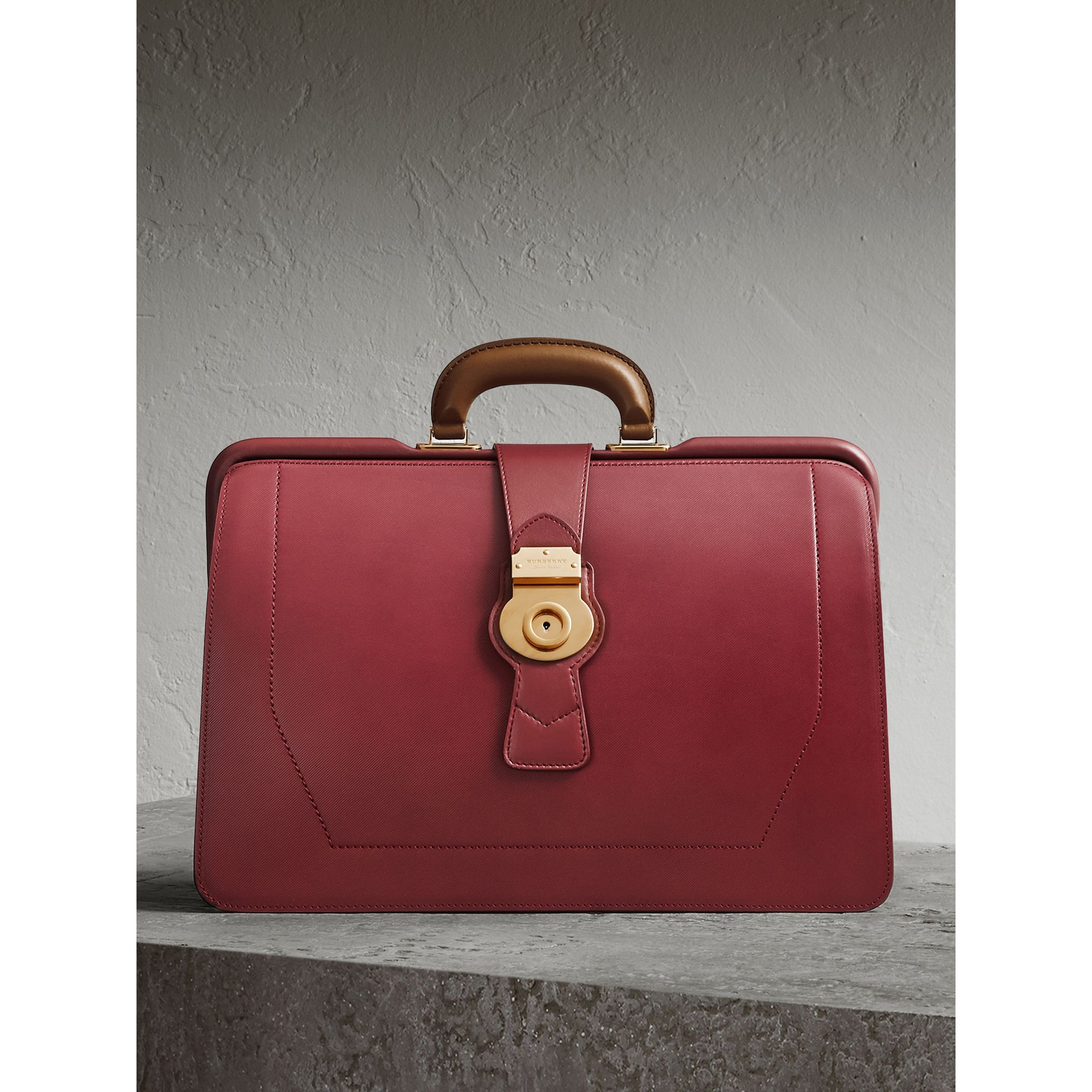 The DK88 Doctor's Bag in Antique Red - Men | Burberry - gallery image 0