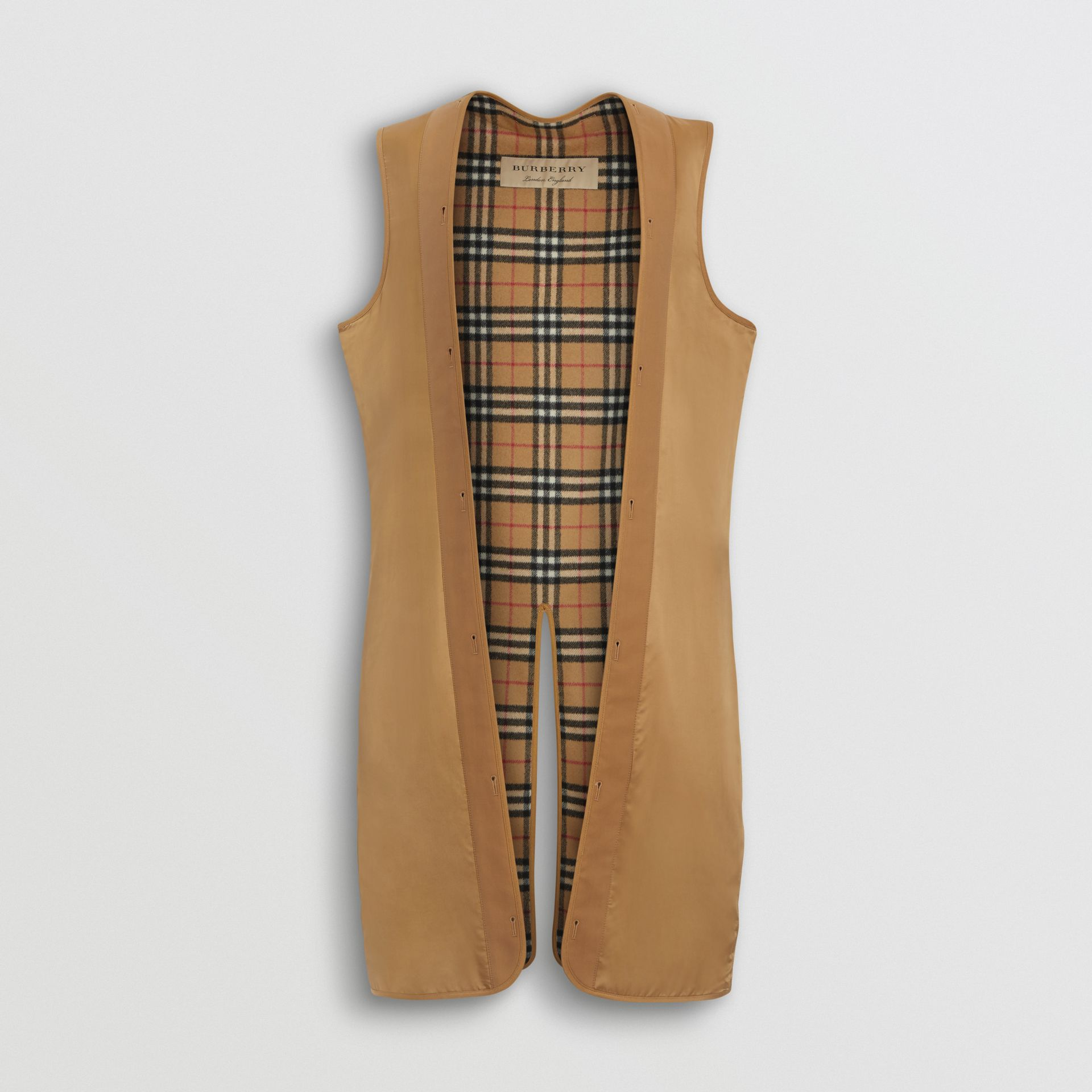 Gilet intérieur long pour trench Heritage Westminster (Jaune Antique) - Homme | Burberry Canada - photo de la galerie 0
