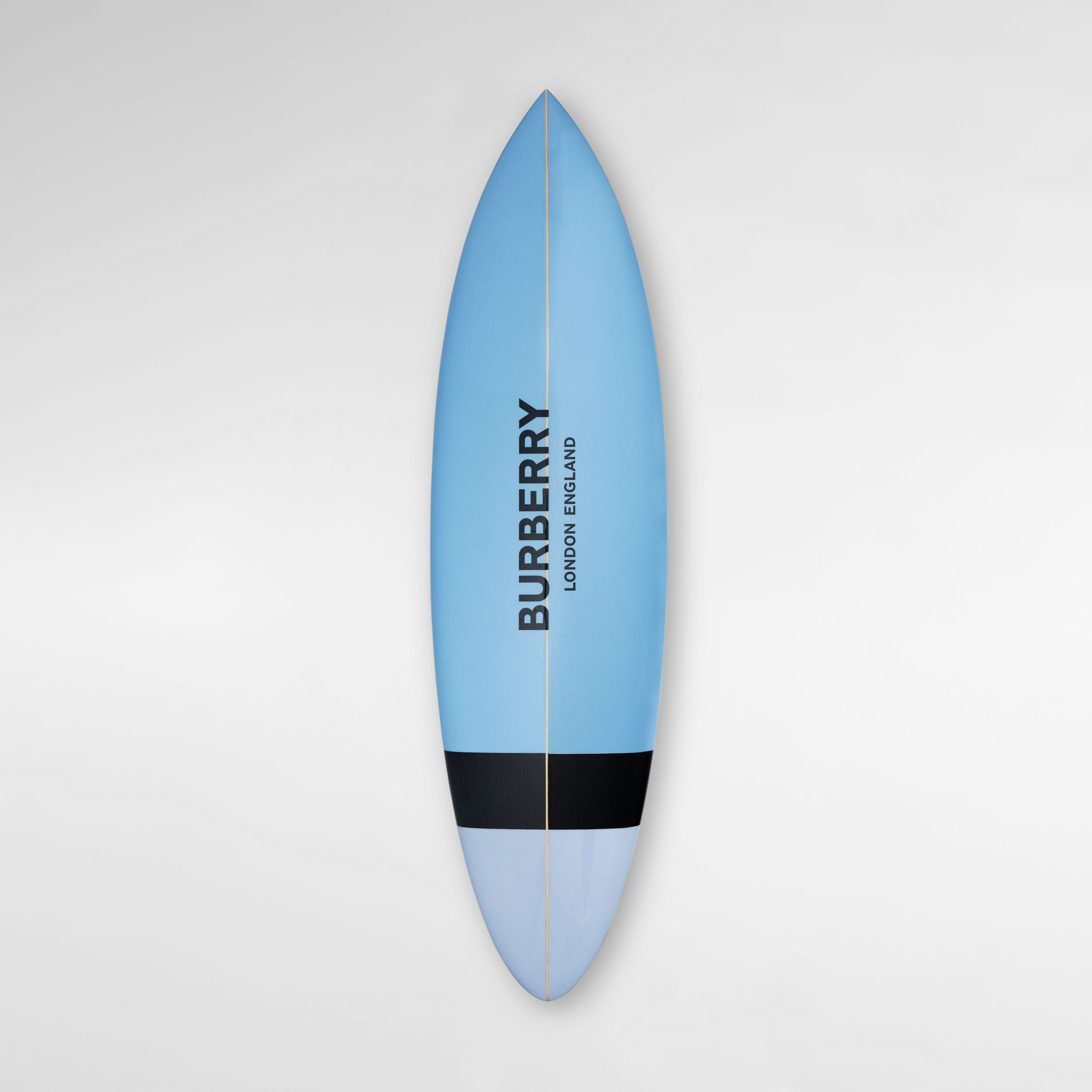 Monogram Print Surfboard in Pale Azure | Burberry - 1