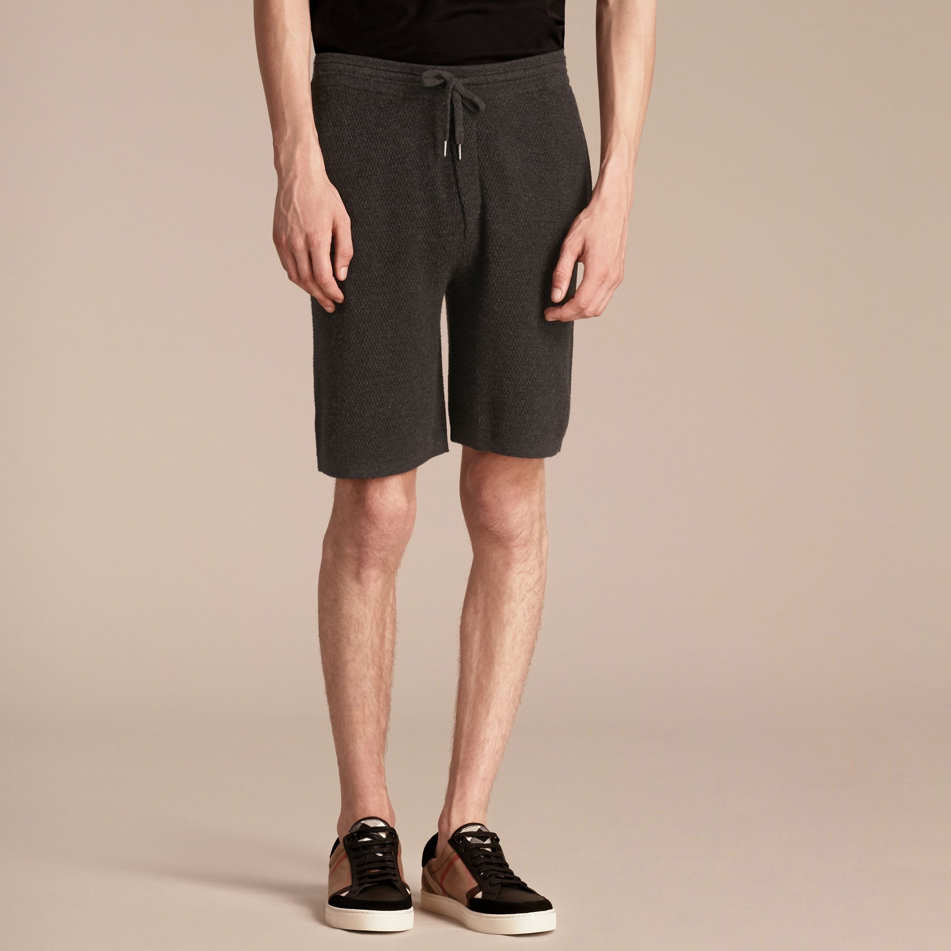 Knitted Cashmere Shorts - gallery image 4