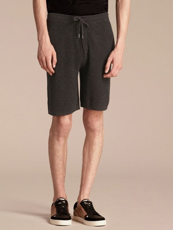 Knitted Cashmere Shorts - cell image 3