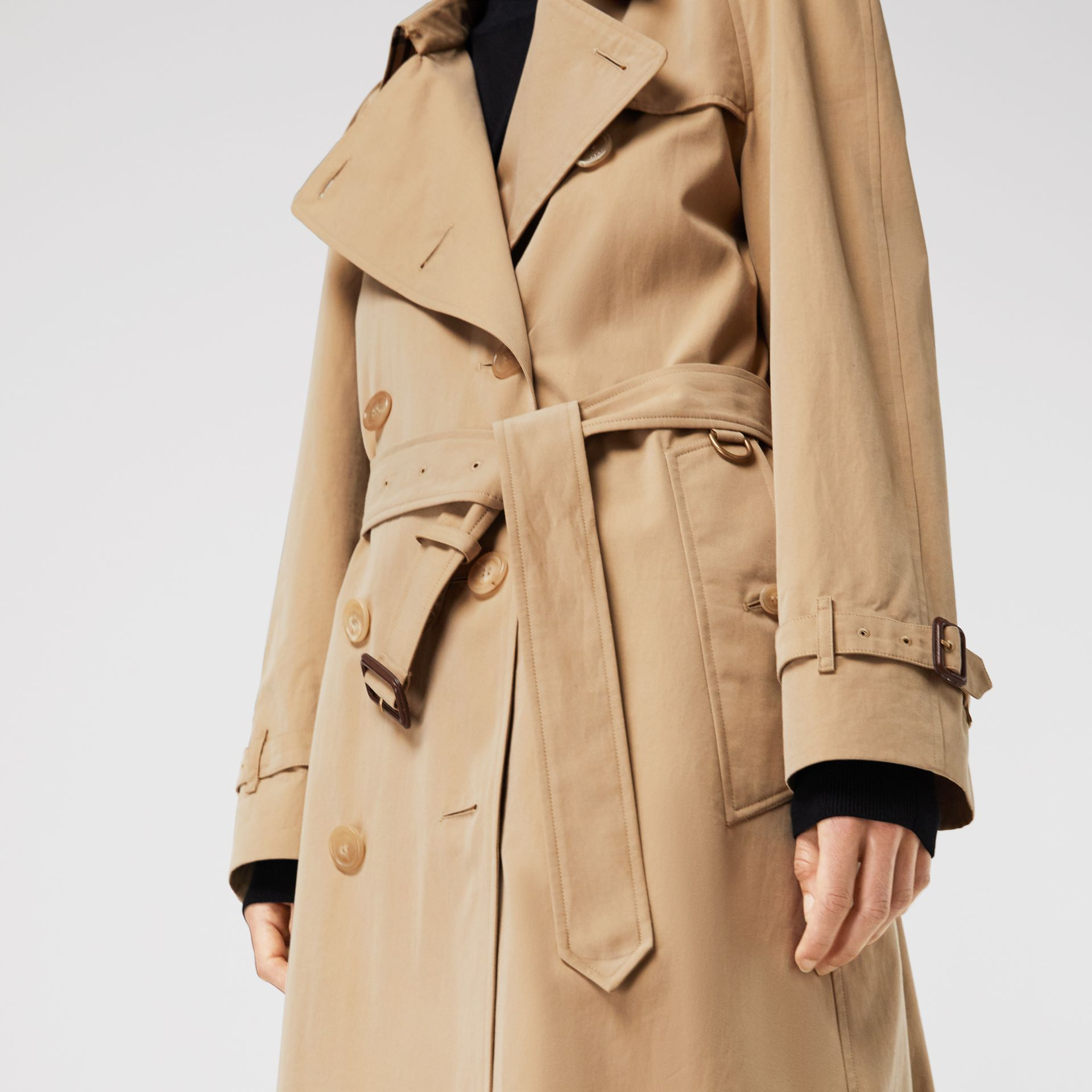 Trench coat Heritage The Westminster (Miele) - Donna | Burberry - immagine della galleria 4