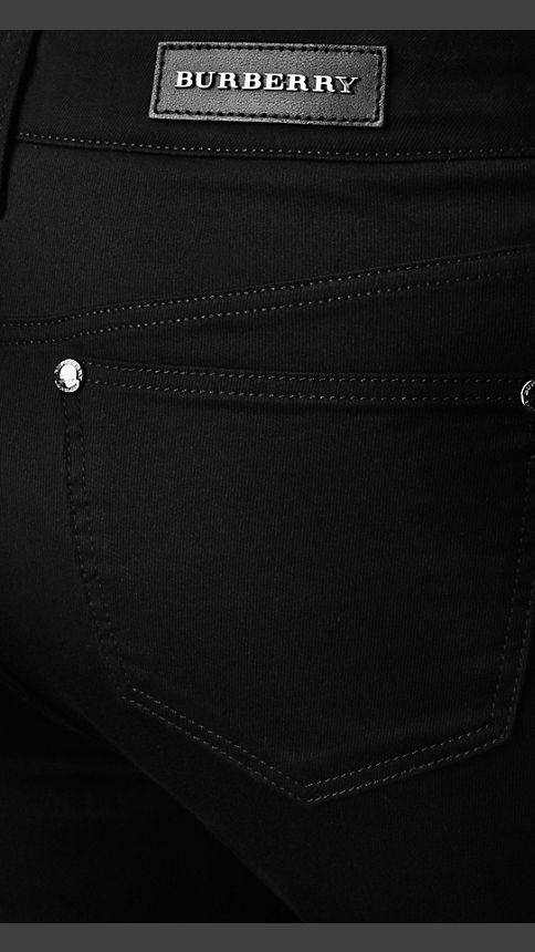 Black Harwood Black Flared Jeans - Image 4