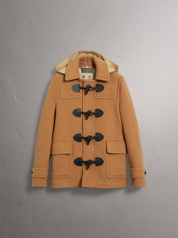 The Plymouth Duffle Coat in Mid Camel - Men | Burberry - cell image 3