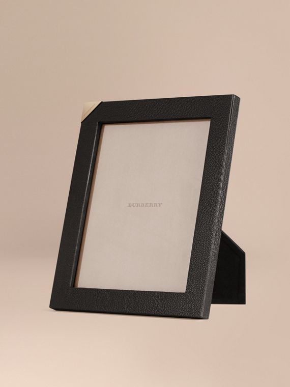 Large Grainy Leather Picture Frame