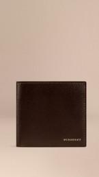 London Leather Folding Wallet