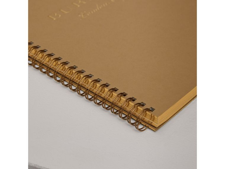 A4 Notebook Refill in Honey | Burberry United Kingdom - cell image 1