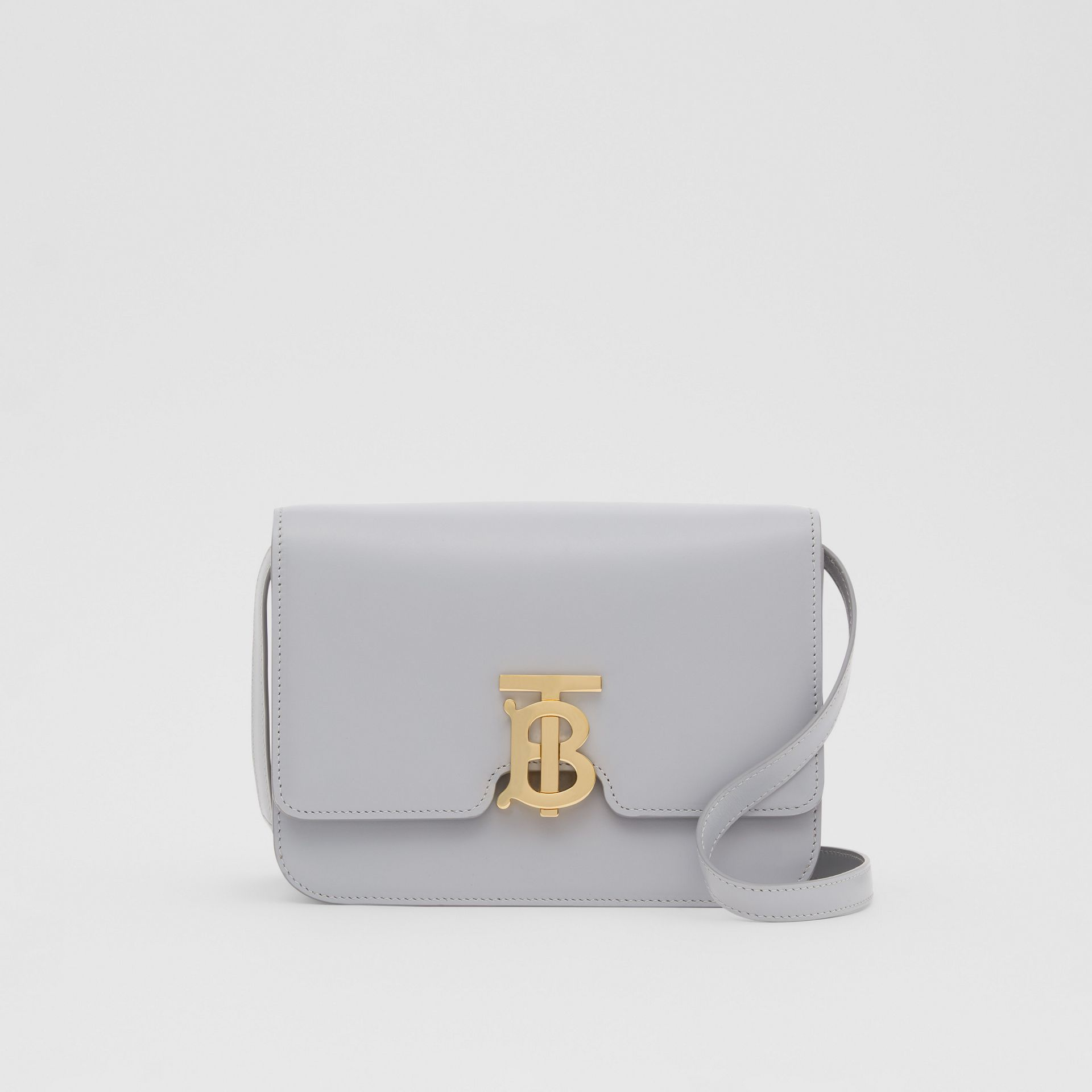 Small Leather TB Bag in Heather Melange | Burberry United Kingdom - gallery image 0