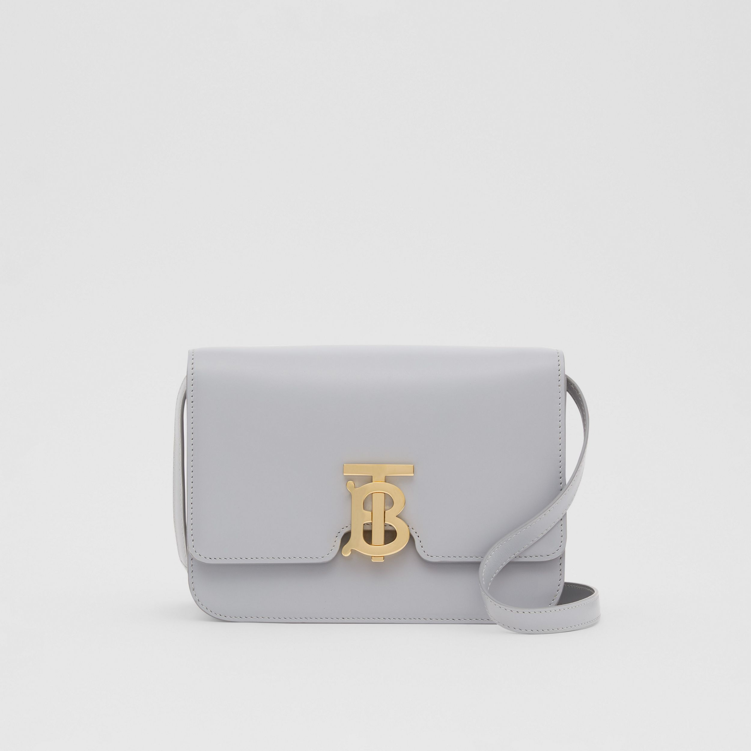 Small Leather TB Bag in Heather Melange - Women | Burberry - 1