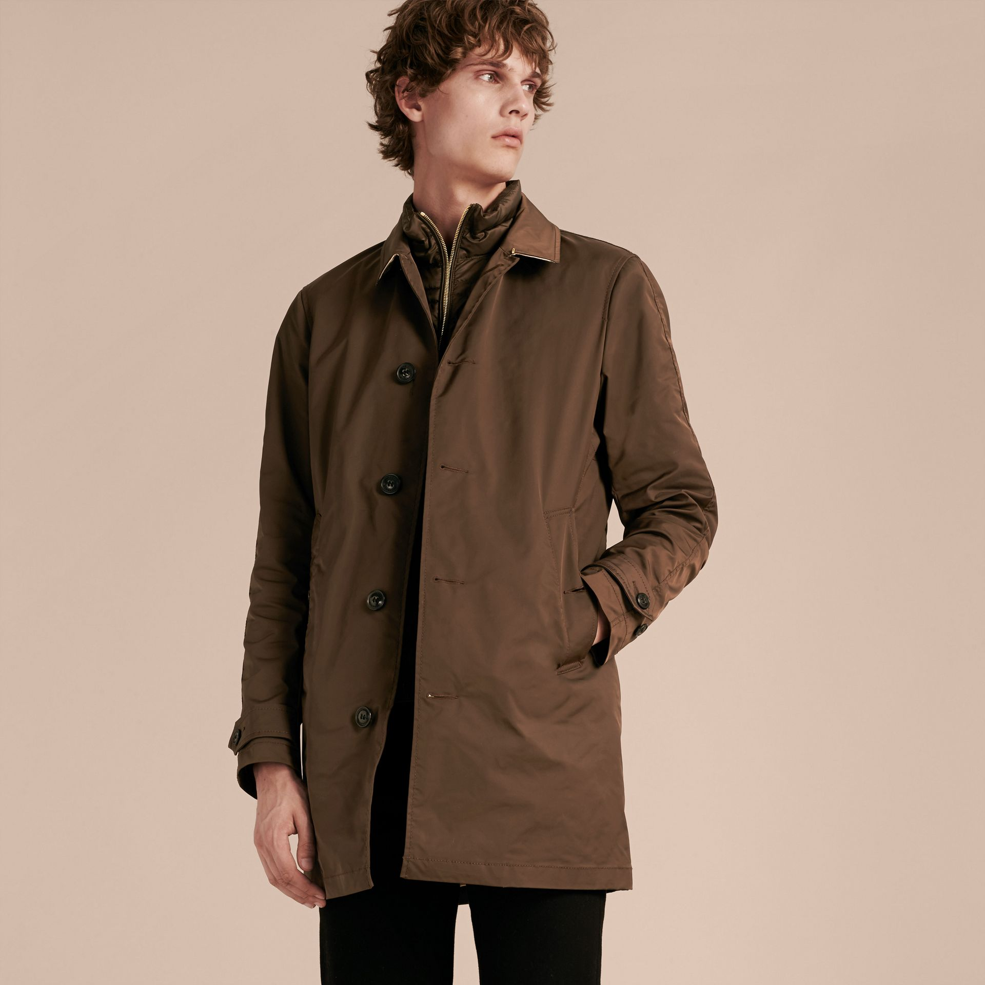 Showerproof Car Coat with Detachable Down-filled Warmer - gallery image 7