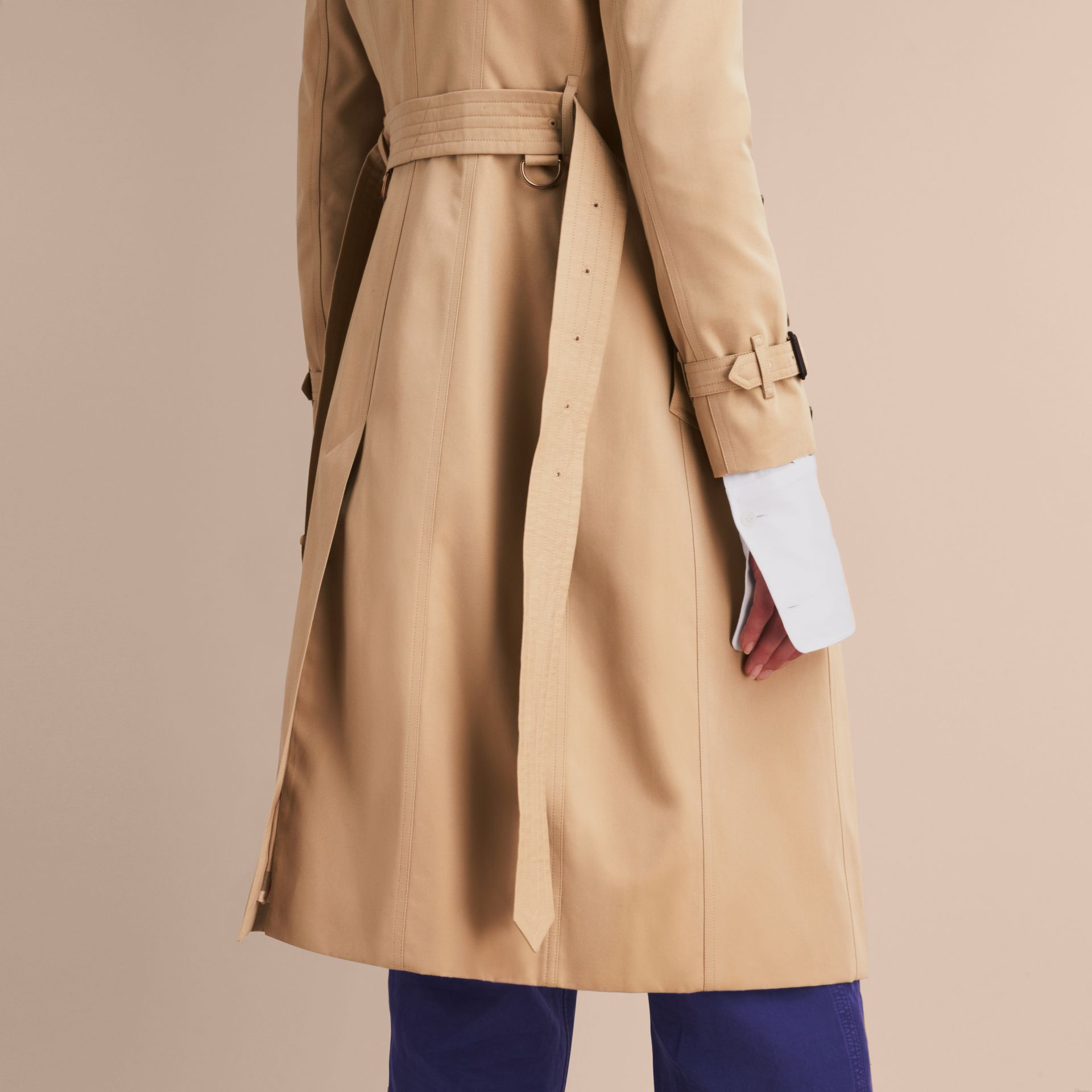 Honey The Chelsea – Extra-long Heritage Trench Coat Honey - gallery image 7