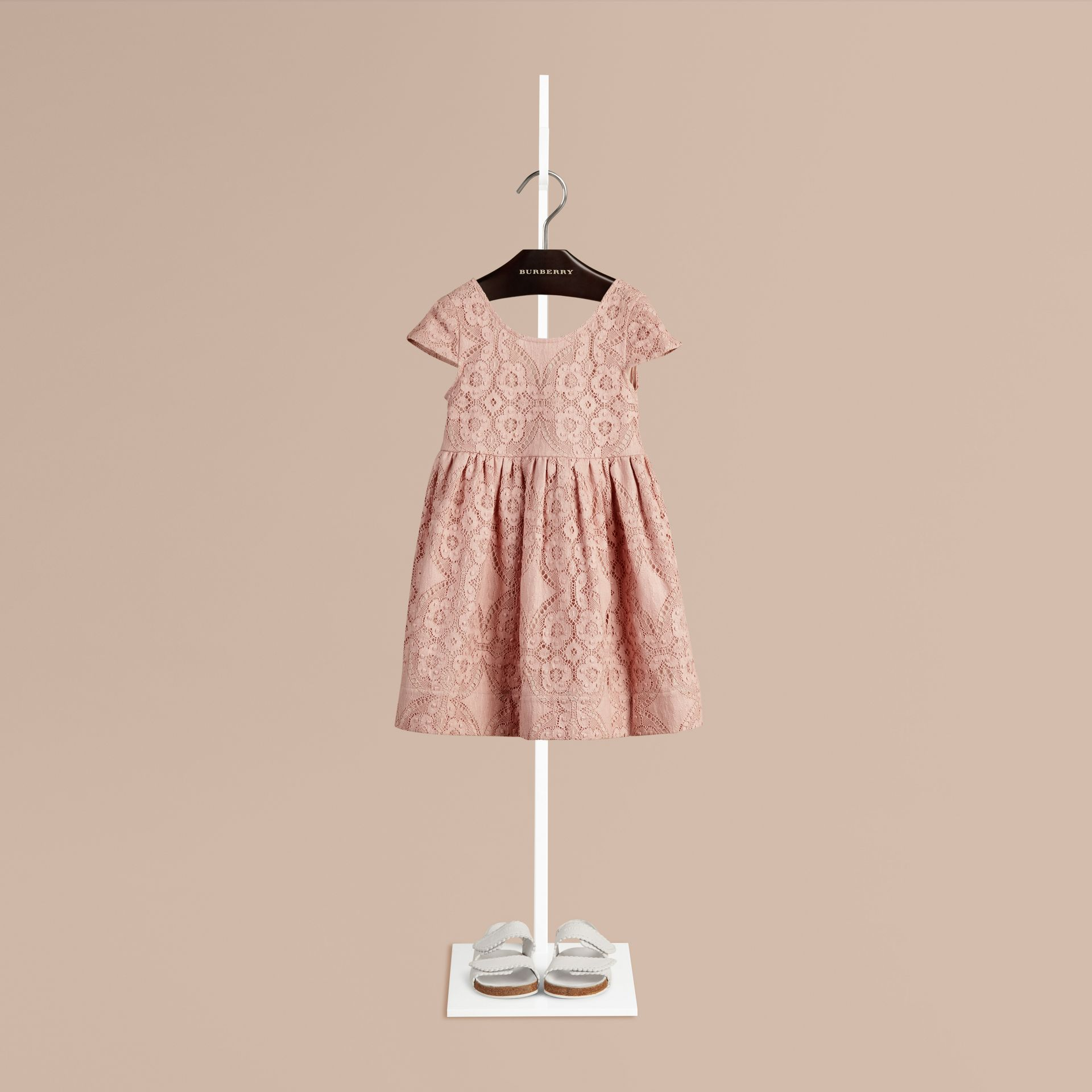 Thistle pink Cap Sleeve English Lace Dress Thistle Pink - gallery image 1
