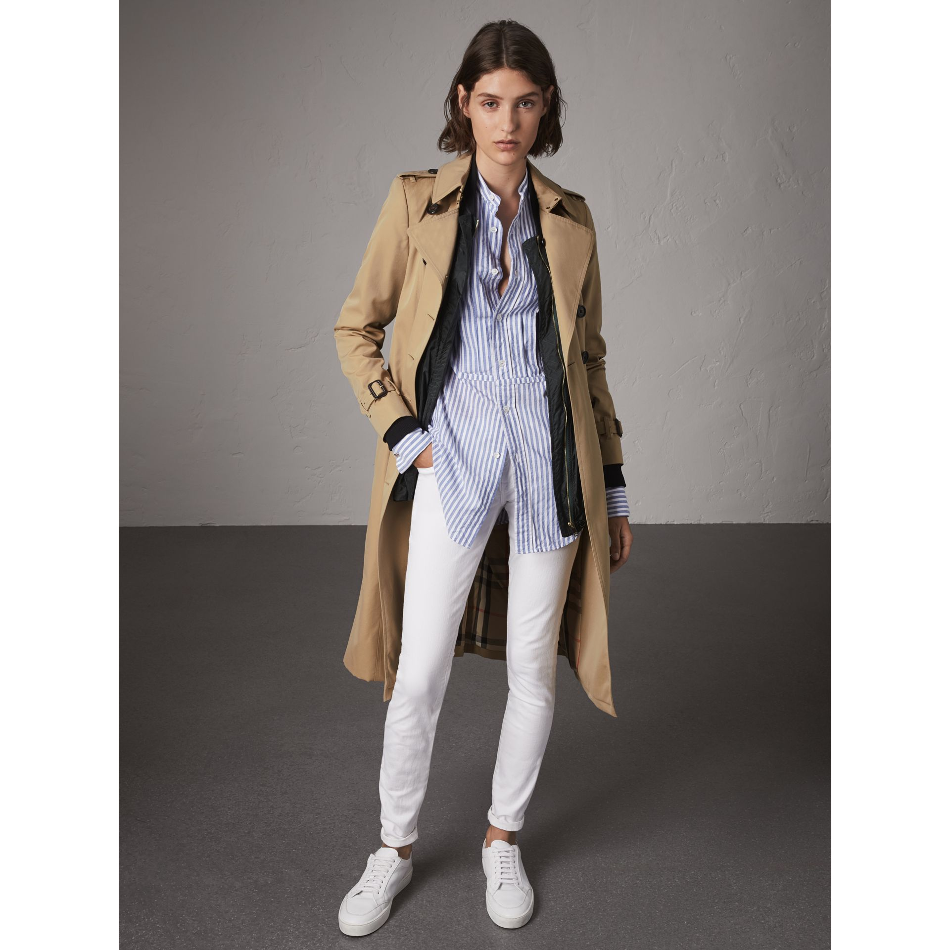The Chelsea – Trench extra-long (Miel) - Femme | Burberry - photo de la galerie 1